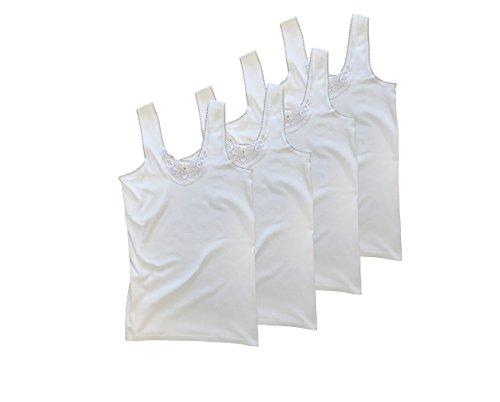 BestBuy-Shop - Canottiera -  donna 8er Pack   Weiß