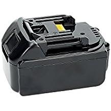 PURE⚡POWER® PLUS Batería del herramienta eléctrica para Makita BHP458 (18V, 3000 mAh, Li-Ion, negro)