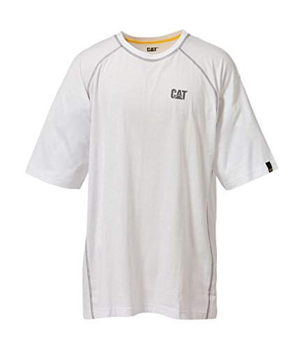 CAT Caterpillar Arbeitsbekleidung - Performance T-Shirt - dunkelgrau - 3X L EU / UK (Arbeitshemd 3x)