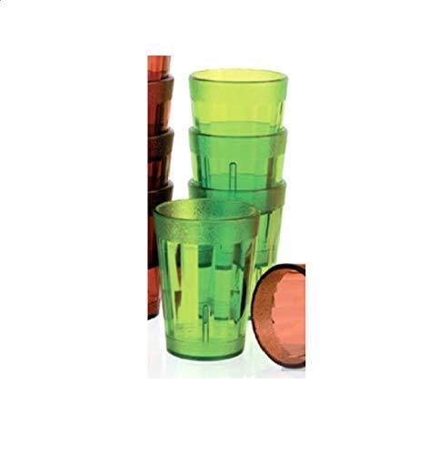 Visiodirect Boite DE 12 Bobelets Lime 25 cl