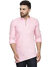 Ben Martin Men's Cotton Regular Kurta