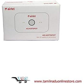 Airtel 4G Hotspot - E5573Cs-609 Portable Wi-Fi Data Device (White