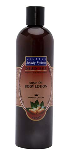 Totes Meer Mineral & Argan Öl BODY LOTION, 400 ml - 100% Original by Mineral Beauty System - Israel. - Totes Meer Mineral Lotion