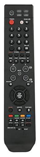 VINABTY BN59-00516A control remoto del televisor para SAMSUNG BN59-00517A BN59-00603A BN59-00611A BN5900516A BN5900517A BN5900603A BN5900611A teléfono de reemplazo LE20S51B LE20S51BP LE20S51BH LE20S51BX LE20S81B LE20S81BX LE22S81B LE22S81BX LE22S86BD LE22S86BDX LE26S86BCX LE26S86BD LE26S86BDX LE27S71B LE27S71BX LE27S72B LE27S72BX LE27S73BD LE27S73BDX LE27S73BDX / FID LE27S73BDX / XEU LE27S74BD LE27S74BDX LE32S60BD LE32S60BDX LE32S60BDX / XEU LE32S61BX LE32S62BX LE32S66BD LE32S66BDX LE32S66BDX /
