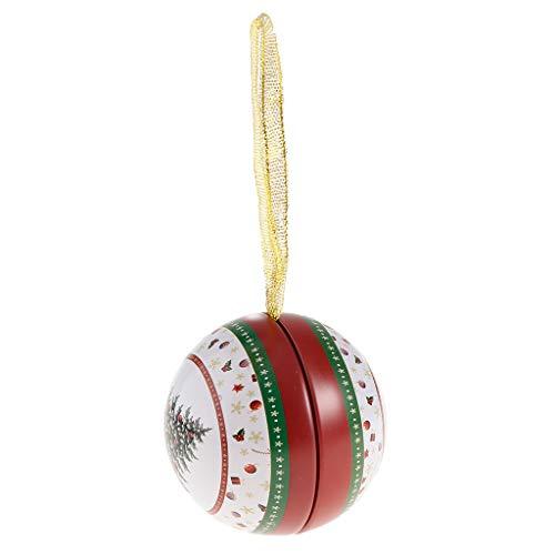 SM SunniMix Nachüllbare Weihnachtskugeln Geschenkkugeln Baumkugeln Dekokugeln Baumschmuck, Geschenk für Kinder und Familien - Weihnachtsbaum