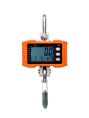 Hyindoor Smart Elektronische Crane Maßstab mit Hohe Genauigkeit Elektronische Hängewaage Digital Haken Hängewaage 500kg 1100Lbs