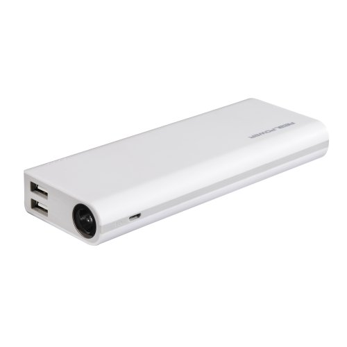 Realpower 134510 Powerbank PB6000 externe Akku-Ladegerät (6000mAh, USB)