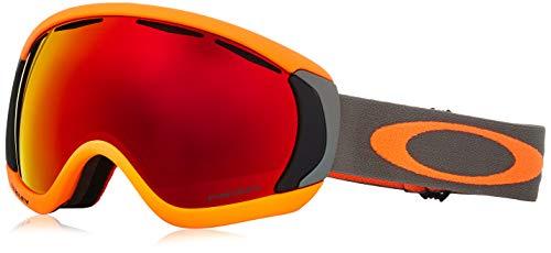 Oakley Herren Schneebrille Canopy Orange Dark Brush Goggle