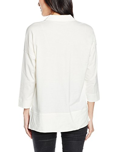 Marc O'Polo, T-Shirt Donna Elfenbein (white cocoon 102)