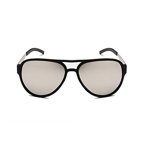 LNNUKc-G TR90 Polarized Sunglasses Fashion Trends Bunte polarisierte Spiegelgläser Sonnenbrille für Männer/Frauen (Farbe : A3)