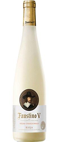 faustino v Faustino V Blanco Rioja Vinos Viura 2017 Trocken (6 x 0.75 l)