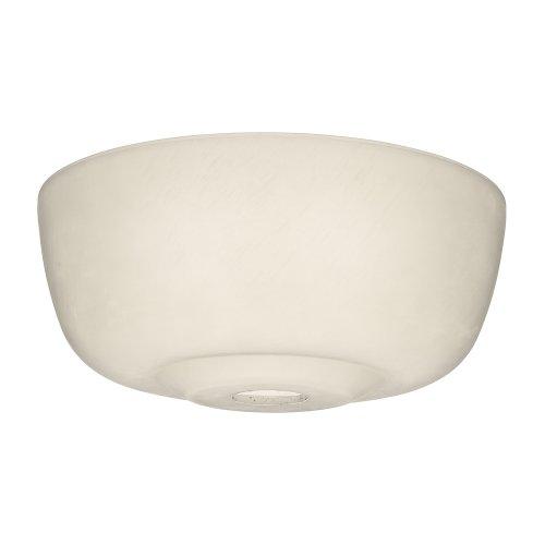 Casablanca 99059 Cased White Transitional Glass Bowl for 99023 Cased Glass Bowl