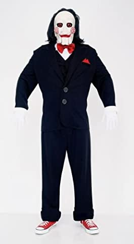 Puppet Costume Homme - Adulte Jigsaw Puppet Deluxe pour homme Costume: