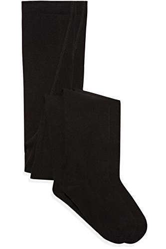 RED WAGON Girl's Cotton Ribbed Tights (pack of 2)