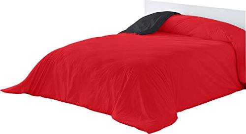 Lucena cantos el calor que no pesa Funda Nórdica Bicolor, Rojo/Negro, 300 x 270