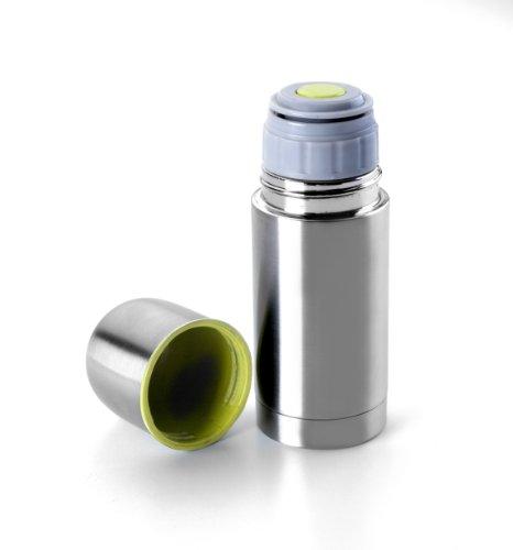 Ibili 753801 - Bottiglia isotermica mini, in acciaio inox, con doppia parete,...