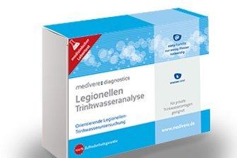 Legionellen Trinkwasseranalyse