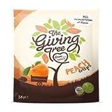 The Giving Tree Freeze Dried Peach Crisps 38g