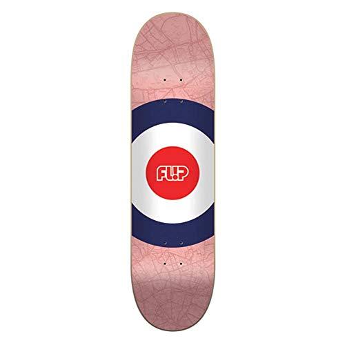 """Flip Mapdyssey Red 8.25\"""" Skateboard Deck"""