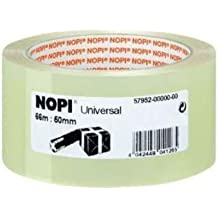 Nopi Universal Packband, transparent, 66m:50mm