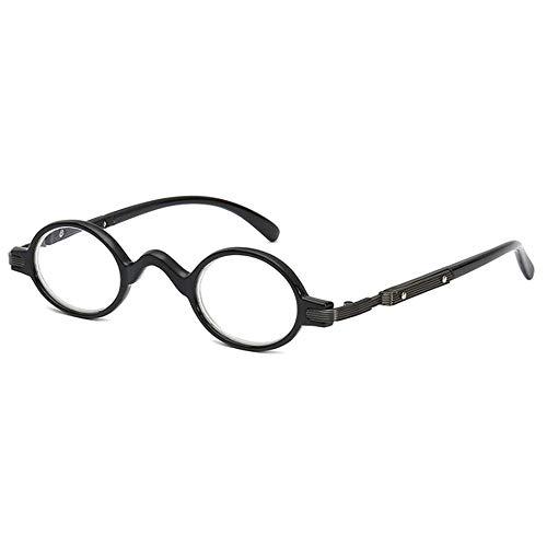 GEMSeven Vintage kleine Runde Rahmen Reader Gläser Männer Frauen Lesebrille Presbyopie Brillen