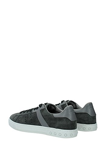 XXM0XY0O670CJU333O Tod's Sneakers Homme Chamois Gris Gris