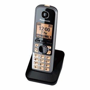 Panasonic KX-TGA671EXB Mobilteil für Panasonic KX-TG67xx Serie inkl. Ladeschale scwarz Panasonic Kx-serie