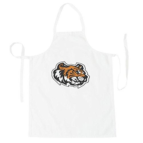 (Tiger Kopf Maskottchen-Logo Schürze u621b)