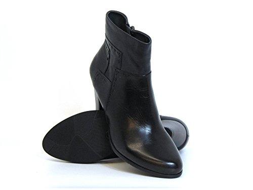 Femmes bottines noir, (schwarz) MARISI-174 BLACK schwarz