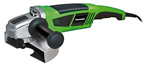 Kawasaki 603010390Amoladora de ángulo AG 2200K K, W, 230V, Verde, Negro