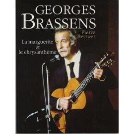 Georges Brassens, la marguerite et le chrysanthème