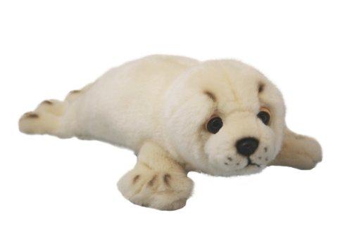 Ark Toys - Peluche a forma di cucciolo di foca, 30 cm