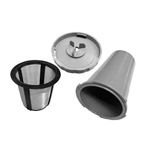 Monllack Durable Coffee Pod Filter Compatible with for Keurig Coffee Machine Reusable Coffee Capsule Filter Portable Coffee Strainer (Keurig Portable)