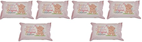 baby-dream-original-72-soft-baby-wipes-dermatologically-approved-6-pack