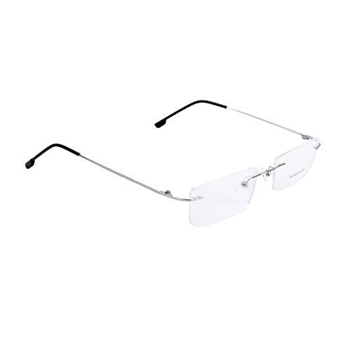 Moda Metallo Occhiali Senza Montatura Occhiali da Vista Frame Cornice Leggero