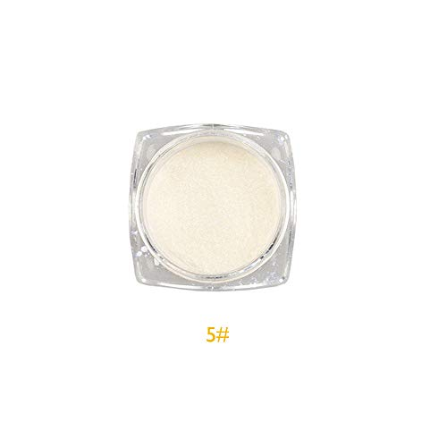 Mitlfuny Gesundheit Und SchöNheitDIY Dekoration 2019,Meerjungfrau Pulver Staub Perle Shell Glimmer Nail Art Pigment Shimmer Maniküre-Tipps (Nägel 2019 Halloween)