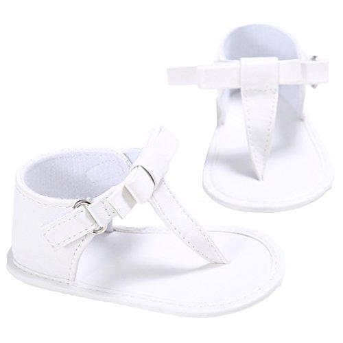 EOZY Babyschuhe Sandalen Weiche Sommer Kleinkind Schuhe Weiß