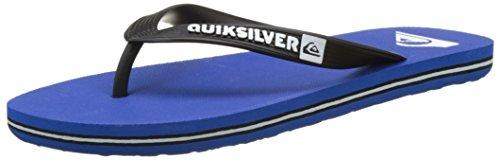 Quiksilver Molokai, Herren Zehentrenner, Blau (Black/Blue/Black), 46 EU (12 UK) (Flip Flop Blue 12)