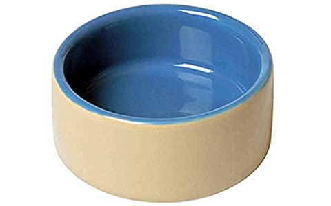 Lazy Bones 8cm Blue and Beige China Rodent Bowl