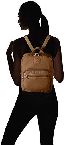 Bogner - Backpack 3, Borsa a mano/zaino Donna Marrone (Camel)