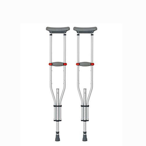Muleta Axilar Adulto Aluminio Andador Rehabilitación