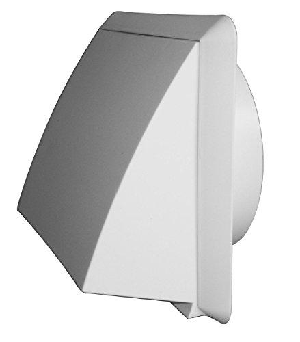 Preisvergleich Produktbild Upmann Ablufthauben DN 100 weiß, 1 Stück, 66216