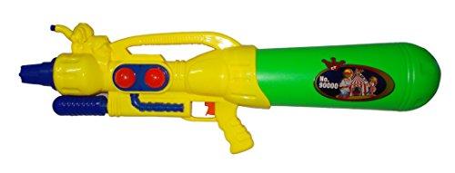 Kotak-Sales-Pichkari-Water-Spray-Gun-for-Holi-Dhuleti-Color-Water-Shooting-Splashing-Toy-for-Kids-Big-Size-275-Inch-YellowGreen-MIX