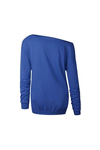 Les Wapitis Pour Une Épaule Un Pull Noël Au Sweat Costume blue