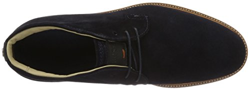 Boss Orange Tuned, Bottes Chukka Homme Bleu (Dark Blue 405)