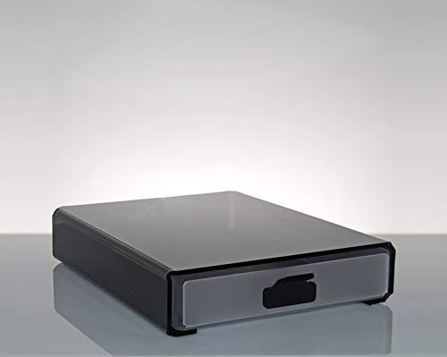 Cassetto contenitore porta capsule e cialde di caffè design moderno in plexiglass metis