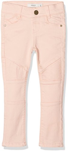 NAME IT NAME IT Mädchen Jeans NKFPOLLY TWITIRSANNE Pant AD NOOS Rosa Peachy Keen, 92