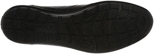 Symbol Uomo Sneaker Schwarz B Black Geox Herren ESZnqWq4B