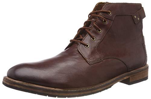 Clarks Herren Clarkdale Bud Klassische Stiefel, Braun (Mahogany Leather), 41 EU