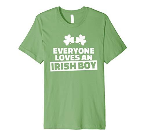 Everyone Loves an Irish Boy T-Shirt (Irish Love Boys-t-shirts)
